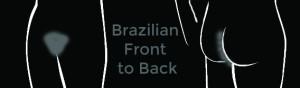 Area Waxed for Men's Brazilian